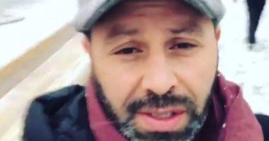 فيديو.. فى عيد ميلاده الـ44.. حازم إمام حرامى قلوب الزملكاوية