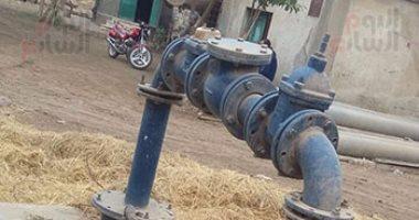 """صور.. """"مرشحة مياه شبرا قلوج"""" بالغربية تأسست منذ 2004 ولم تعمل حتى الآن"""
