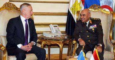 صور.. وزير الدفاع الأمريكى يؤكد لـ صدقى صبحى دعم بلاده لمصر فى محاربة الإرهاب