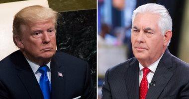 ترامب بعد إقالة تيلرسون: خلافى معه بشأن الاتفاق النووى الإيرانى