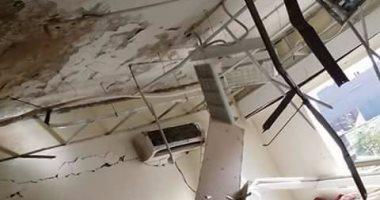 انفجار سخان مياه داخل مسكن الأطباء بمستشفى الخارجة دون إصابات