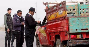 مدير الإدارة العامة للمرور يتفقد الطرق الرابطة بين المحافظات لتأمين الرحلات