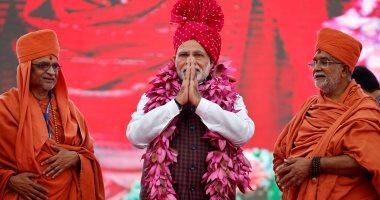مودي يتوقع فوزا سهلا قبل أسبوعين من بدء الانتخابات بالهند