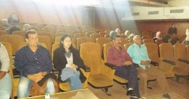 لجنة مشاهدة نوادى المسرح تقيم مشاريع عروض ثقافة أسوان