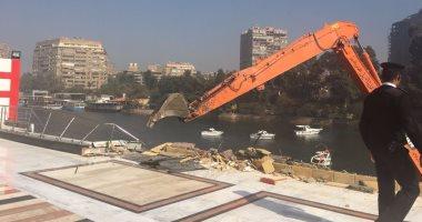 رئيس قطاع حماية النيل: نادى الزمالك النهرى تعدى على النهر بردم 70 مترا (صور)