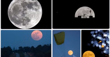 القمر العملاق يزين سماء الأرض وحجمه يفوق 7% من المعتاد