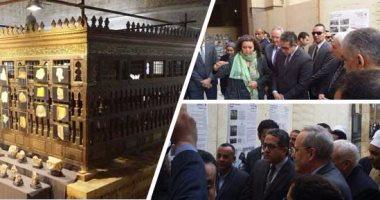 السفارة الأمريكية: ندعم التراث الثقافى المصرى فى ضريح الإمام الشافعى
