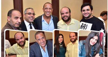عقد قران محمد عبد الرحمن نجم مسرح مصر بحضور أشرف عبد الباقى