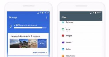 جوجل تضيف تقنيات الذكاء الاصطناعى لتطبيقها الشهير  Files Go -