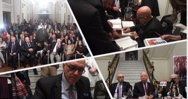 وزراء ومثقفون وسياسيون فى حفل توقيع مذكرات محمد سلماوى بقصر عائشة فهمى