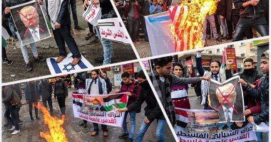 """تظاهرات عارمة فى فلسطين تحت شعار """"لا لتهويد القدس"""""""