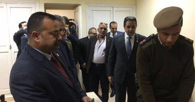 وفد برلمانى يتفقد مركز شرطة يوسف الصديق بالفيوم.. والمحتجزون: المعاملة جيدة