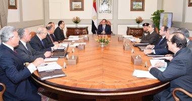 الرئيس السيسي يشدد على الالتزام بالقرارات الأممية والوضع القانونى للقدس