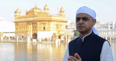 جولة لعمدة لندن فى المعبد الذهبى للسيخ بالهند