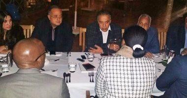 رئيس لجنة التعاون الأفريقى باتحاد الصناعات يلتقى نائب رئيس دولة بروندى