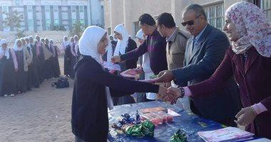 تكريم طلاب مدرسة التمريض المتفوقين بجنوب سيناء
