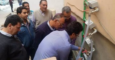 جهاز المنيا الجديدة :بدء تركيب عدادات المياه مسبقة الدفع لـ1848 وحدة
