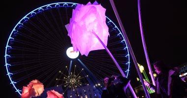 صور.. مهرجان الأضواء فى باريس يبهر ألاف الزائرين