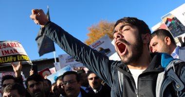 أكثر من 20 ألف متظاهر فى عمان منددين بقرار ترامب بشأن القدس