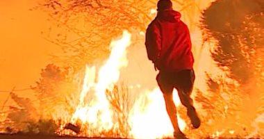أمريكا تطلب من سكان كاليفورنيا إخلاء منازلهم بسبب حرائق الغابات