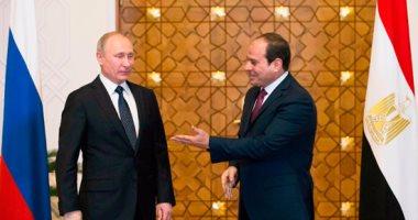 بوتين يطلع السيسى على تفاصيل لقائه مع الأسد