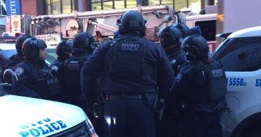 احتجاجات فى شوارع نيويورك لعدم اتهام شرطى بقتل رجل أسود