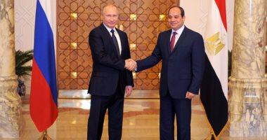 خارجية روسيا: الرئيس السيسي يبحث مع بوتين الوضع الإقليمى والتعاون بين البلدين