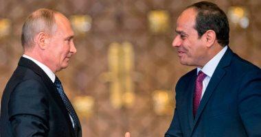 الرئيس السيسي يهنئ الرئيس بوتين بإعادة انتخابه لفترة رئاسية جديدة 2017121106030838