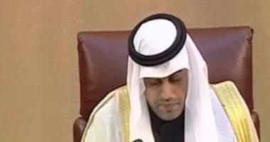 رئيس البرلمان العربى مشعل بن فهم السلمي