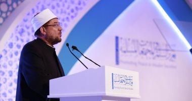 وزير الأوقاف من الإمارات: لن نكون شعوب استسلام فى عالم لا يؤمن إلا بالقوة