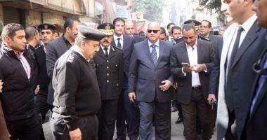 فيديو.. مديرو الأمن فى جولات ميدانية لاقتلاع جذور الإرهاب