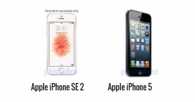إيه الفرق.. أبرز الاختلافات بين هاتفى أيفون 5s وأيفون SE 2