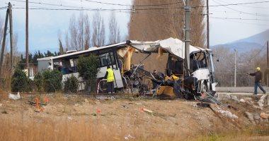 إصابة شخصين فى حادث تصادم ثلاث سيارات بالمنوفية