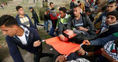 إصابة شاب فلسطينى برصاص قوات الاحتلال الإسرائيلى جنوب نابلس