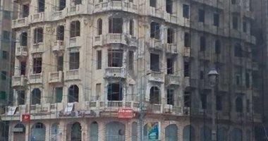 """هدم مبنى """" راقودة """" يثير  الغضب بين مثقفى الإسكندرية والمهتمين بالآثار"""