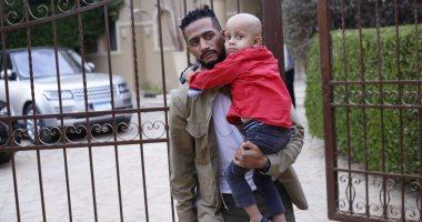 محمد رمضان يحقق حلم مريض بالسرطان بحضور تصوير فيلم الديزل