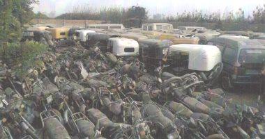 """""""المرور"""" تتصدى لإرهاب الموتوسيكلات وتضبط 1380 مركبة مخالفة بالمحافظات"""