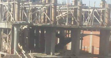 قارئ يشكو بناء أحد المواطنين على أرض زراعية بقرية كفر الأبحر فى الدقهلية