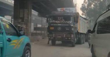 الطرق: حظر دخول المقطورات للقاهرة الكبرى نهاية سبتمبر المقبل