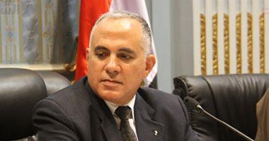 الدكتور محمد عبد العاطى وزير الموارد المائية والر