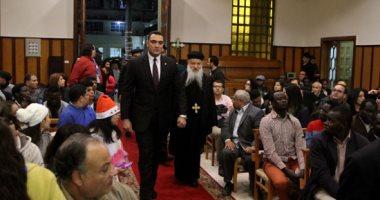 السيسى يوفد أمين عام رئاسة الجمهورية لحضور قداس عيد الميلاد