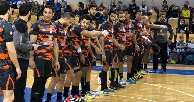 منتخب كرة اليد يؤدى المران الأخير مساء اليوم قبل السفر للجابون