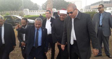 صور.. وكيل الأزهر ومحمد المحرصاوى يتفقدان فرع الجامعة بأسيوط
