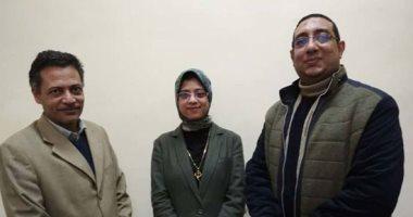 فيديو وصور .. طالبة بسوهاج تبتكر علاجا للأمراض الجلدية من مواد طبيعية