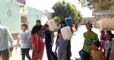 """""""منذ 10 أيام"""".. شكوى من انقطاع المياه فى قرية أبو النور بمحافظة الشرقية"""