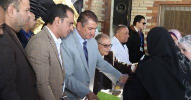 صور.. محافظ كفر الشيخ يطلق حملة لمكافحة الجزام