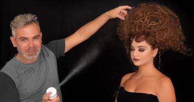 """خبير التجميل اللبنانى """"دانى لحود"""" يقدم تسريحات شعر للاحتفال بالكريسماس"""