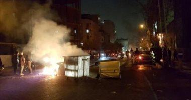مقتل 3 من قوات المخابرات الإيرانية فى مواجهات مع المتظاهرين