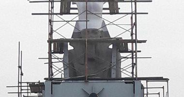شاهد.. تمثال رمسيس بعد إعداده تمهيدًا لنقله للبهو العظيم بالمتحف الكبير