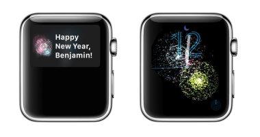 أبل تفاجئ مستخدميها وتحتفل معهم بالعام الجديد عبر ساعات Apple Watch -